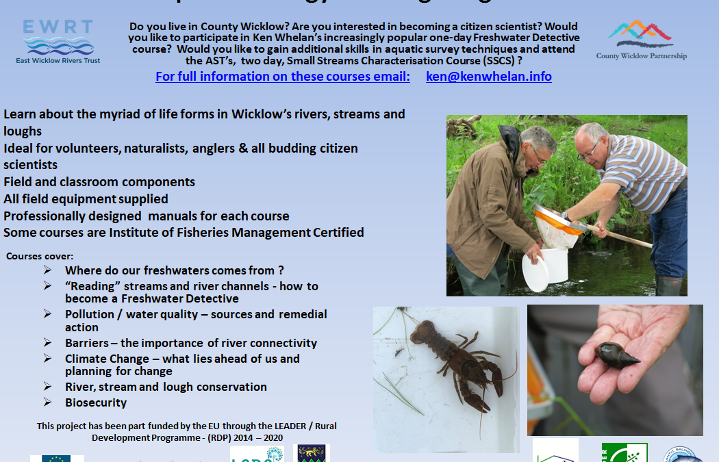Would you like to become a Freshwater Detective?